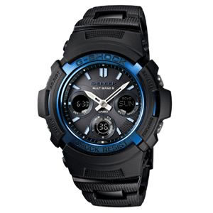 カシオ【国内正規品】G-SHOCK 電波ソーラー腕時計(ブルー×ブラック) AWG-M100BC-2AJF★【CASIO】