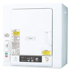 日立【HITACHI】5kg衣類乾燥機 DE-N50WV-W★【DEN50WV】