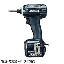 マキタ【MAKITA】14.4V充電式インパクトドライバー(黒)本体のみ TD138DZB★【電池・充電器・ケースは別売】