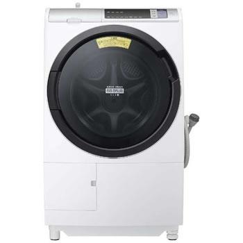 日立【代引き・日時指定不可】洗濯11kg 左開き ドラム式洗濯乾燥機 BD-SV110AL-W★【BDSV110ALW】