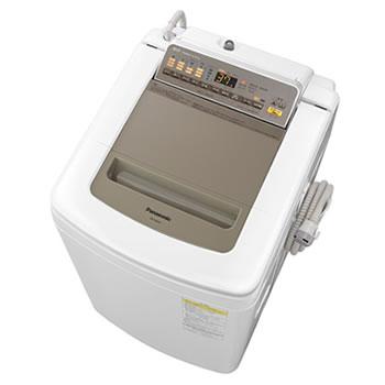 パナソニック【代引・日時指定不可】8kg 洗濯乾燥機 NA-FD80H5-N(シャンパン)★【NAFD80H5N】
