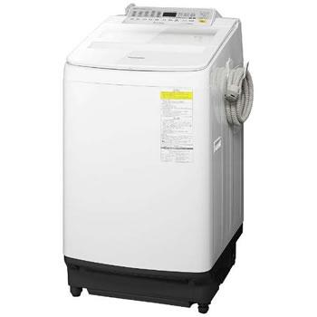 パナソニック【代引・日時指定不可】8kg インバーター洗濯乾燥機 NA-FW80S5-W★【NAFW80S5W】