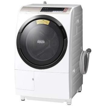 日立【代引き・日時指定不可】洗濯11kg 左開き ドラム式洗濯乾燥機 BD-SV110BL-N★【BDSV110BLN】