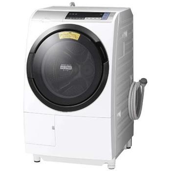 日立【代引き・日時指定不可】洗濯11kg 左開き ドラム式洗濯乾燥機 BD-SV110BL-S★【BDSV110BLS】