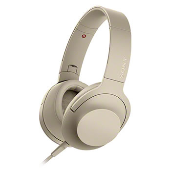 ソニー【ハイレゾ対応】ステレオヘッドホン h.ear on 2 MDR-H600A-N(ペールゴールド)★【MDRH600AN】