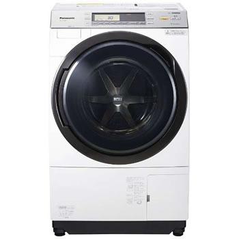 パナソニック【代引・日時指定不可】左開き ななめドラム洗濯乾燥機 NA-VX7800L-W★【NAVX7800LW】