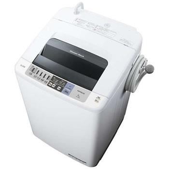 日立【HITACHI】8kg 全自動洗濯機 白い約束 NW-80B-W(ピュアホワイト)★【NW80BW】
