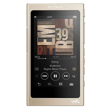 ソニー【SONY】16GB ウォークマンAシリーズ[メモリータイプ] NW-A45-N(ペールゴールド)★【NWA45N】