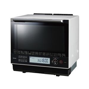 東芝【TOSHIBA】30L過熱水蒸気オーブンレンジ グランホワイト ER-SD5000-W★【ERSD5000W】