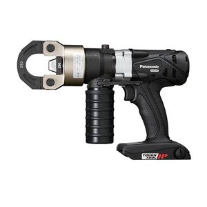 パナソニック【Dual】14.4V/18Vデュアル充電圧着器(黒)圧着ダイスセット EZ46A4K-B★【ケース付 電池・充電器別売】