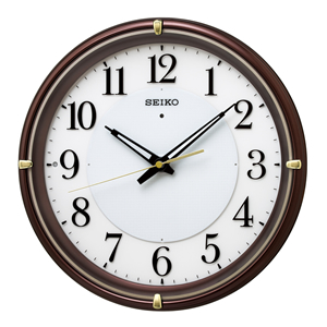 セイコー【SEIKO】電波掛時計 夜でも見える KX233B★【KX233B】