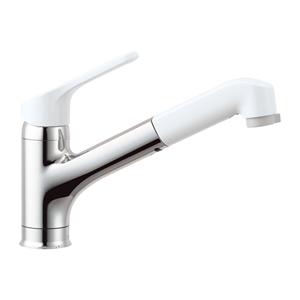 INAX【LIXIL】キッチン用ワンホールシングルレバー混合水栓 ハンドシャワー付き RSF-832Y★【RSF832Y】