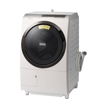 日立【代引・日時指定不可】洗濯11kg ドラム式洗濯乾燥機 ビッグドラム BD-SX110CL-N★【左開き】