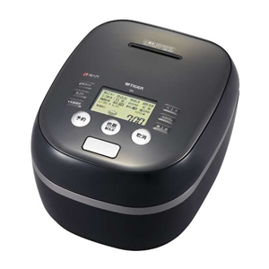 タイガー【炊きたて】5.5合 土鍋圧力IH炊飯ジャー アーバンブラック JPH-A101-KE★【JPHA101KE】