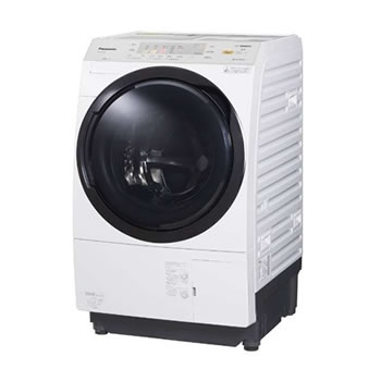 パナソニック【代引・日時指定不可】左開き ななめドラム洗濯乾燥機 NA-VX3900L-W★【NAVX3900LW】