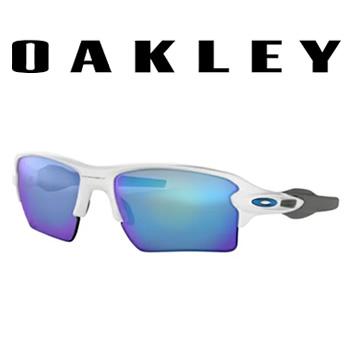 オークリー【OAKLEY】サングラス FLAK 2.0 XL POLISHED WHITE OO9188-9459★【PRIZM SAPPHIRE】