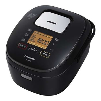 パナソニック【Panasonic】5.5合 IHジャー炊飯器 SR-HB108-K(ブラック)★【SRHB108K】