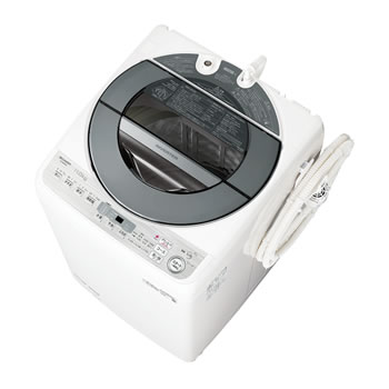 シャープ【SHARP】洗濯11kg 全自動洗濯機 シルバー系 ES-GW11D-S★【ESGW11DS】