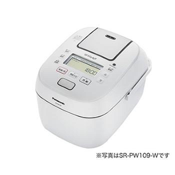 パナソニック【Panasonic】1升 可変圧力IHジャー炊飯器 Wおどり炊き ホワイト SR-PW189-W★【SRPW189W】