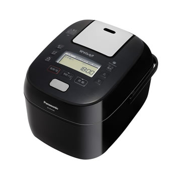 パナソニック【Panasonic】5.5合 スチーム&可変圧力IHジャー炊飯器 Wおどり炊き SR-SPA109-K★【SRSPA109K】