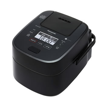 パナソニック【Panasonic】5.5合 スチーム&可変圧力IHジャー炊飯器 ブラック SR-VSX109-K★【Wおどり炊き】