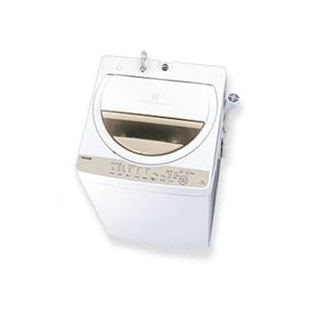 東芝【TOSHIBA】洗濯6.0kg 全自動洗濯機 ZABOON グランホワイト AW-6G8-W★【AW6G8W】