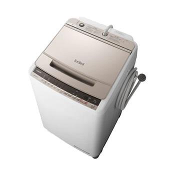 日立【HITACHI】10kg 全自動洗濯機 ビートウォッシュ シャンパン BW-V100E-N★【BWV100EN】