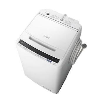 在庫商品は15:00までのご注文で当日出荷可能 日立【HITACHI】8kg 全自動洗濯機 ビートウォッシュ ホワイト BW-V80E-W★【BWV80EW】