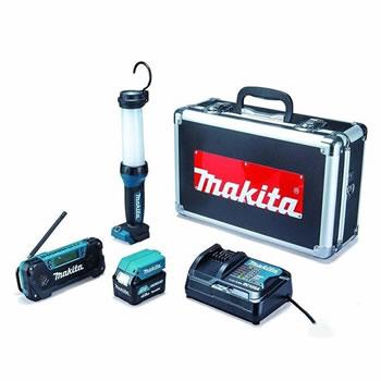 マキタ【makita】10.8V 防災用コンボキット CK1008★【充電式ライト・ラジオ・スマホ充電・電池1個・充電器】