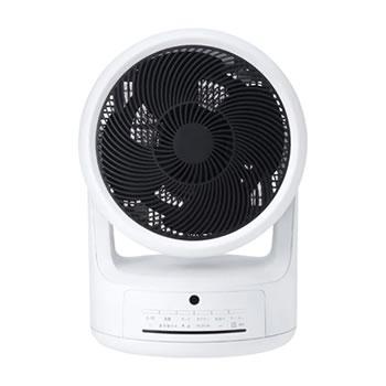 スリーアップ【Threeup】サーキュレーター ヒート&クール ホワイト HC-T1805WH★【扇風機・暖房機器】