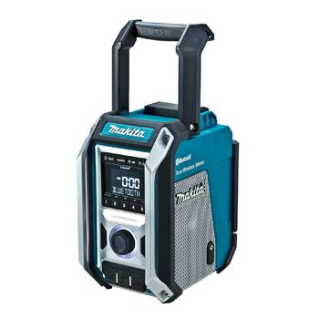 マキタ【makita】Bluetooth対応充電式ラジオ (青)本体のみ MR113★【電池・充電器別売】