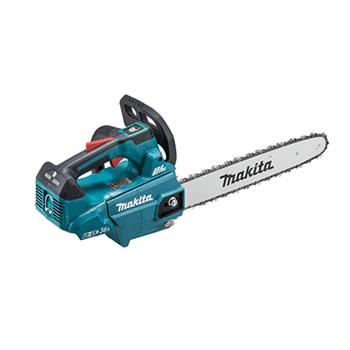 マキタ【makita】350mm充電式チェンソー(青)本体のみ MUC356DZF★【電池・充電器別売】