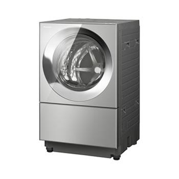 在庫商品は15:00までのご注文で当日出荷可能 パナソニック【代引・日時指定不可】左開き 洗濯10kg ななめドラム洗濯乾燥機 NA-VG2400L-X★【Cuble】
