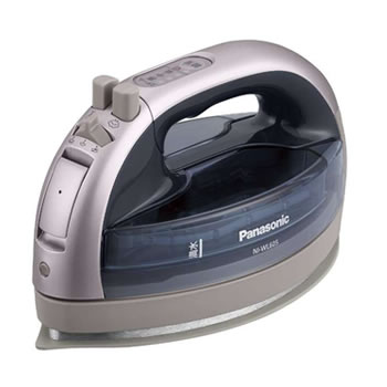パナソニック【Panasonic】コードレススチームアイロン カルル シルバー NI-WL605-S★【NIWL605S】