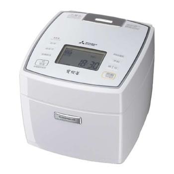 三菱【MITSUBISHI】1升 IHジャー炊飯器 ピュアホワイト NJ-VVA18-W★【NJVVA18W】