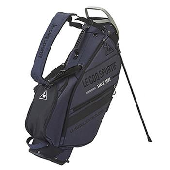 ルコック【le coq sportif】ゴルフ キャディバッグ 8.5型 QQBOJJ02-BK00(ブラック)★【QQBOJJ02BK00】