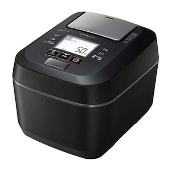 日立【HITACHI】5.5合 圧力IHジャー炊飯器 ふっくら御膳 フロストブラック RZ-W100CM-K★【沸騰鉄釜】