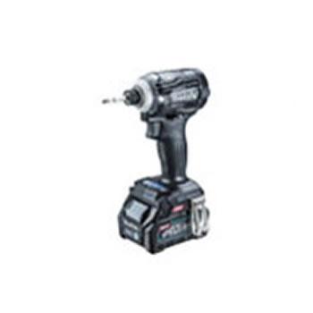 マキタ【makita】40V2.5Ah充電式インパクトドライバ 黒 TD001GRDXB★【電池2個・充電器・ケース付き】