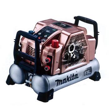 マキタ【makita】11L高圧エアーコンプレッサー(Sカッパー) AC462XLSC★【2口高圧・2口一般圧】