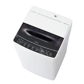 在庫商品は15:00までのご注文で当日出荷可能 ハイアール Haier 5.5kg 全自動洗濯機 JW-C55D-K ●日本正規品● JWC55DK ブラック テレビで話題