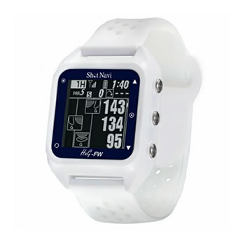 在庫商品は15:00までのご注文で当日出荷可能 ショットナビ テクタイト みちびきL1S対応 GPSゴルフナビ 現金特価 送料無料 GOLF-SALE ShotNavi-HuG-FW-WH 白