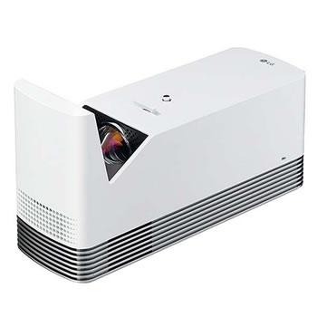 高画質】CineBeam 超短焦点レーザープロジェクター HF85LS★【ホームプロジェクター】 ホワイト LGエレクトロニクス【フルHD