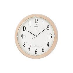 リズム時計工業【シチズン】サイレントソーラーM798★電波掛時計【4MY798-007】