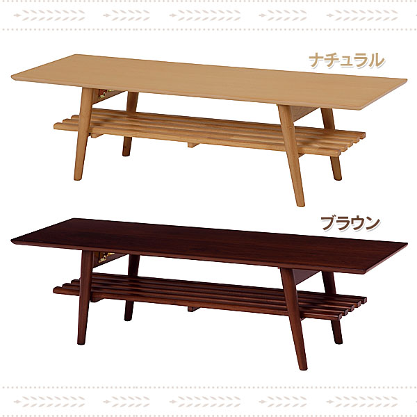 【TD】折れ脚テーブル MT-6924NA・MT-6924BR ナチュラル・ブラウンつくえ デスク 机 コンパクト 省スペース【代引不可】【HH】【送料無料】