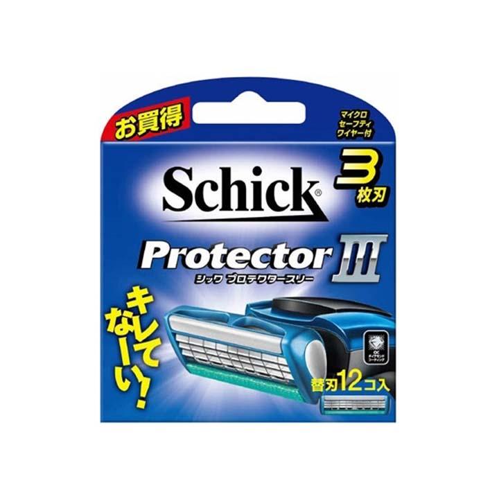 【替え刃 シック】プロテクタースリー 替刃 12個【プロテクター】 【D】