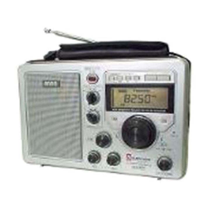 ファイブバンドラジオ シルバー ER4-330SP送料無料 ラジオ デジタル 防災 短波 アンドーインターナショナル 【D】