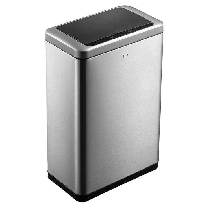ブラヴィア センサービン20L+20L シルバー EK9233MT-20L+20L送料無料 ゴミ箱 ごみ箱 ステンレス シンプル EKOJAPAN 【D】