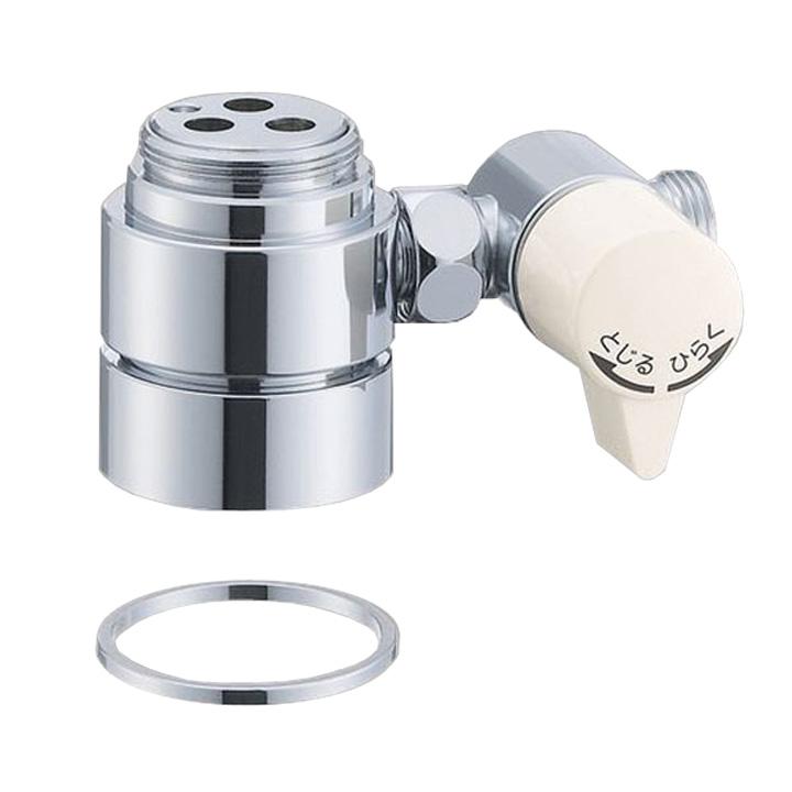 シングル混合栓用分岐アダプター B98-AU1送料無料 水栓部品 シングルレバー混合栓 水道 三栄水栓 SAN-EI 【D】