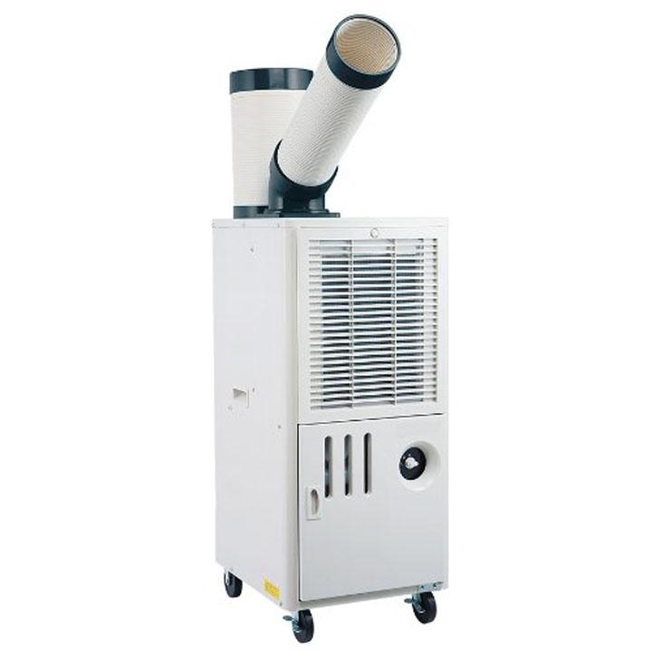 排熱ダクト付きスポットクーラー SAC-1000送料無料 冷房 クーラー 除湿 冷風 工事不要 ナカトミ 【D】