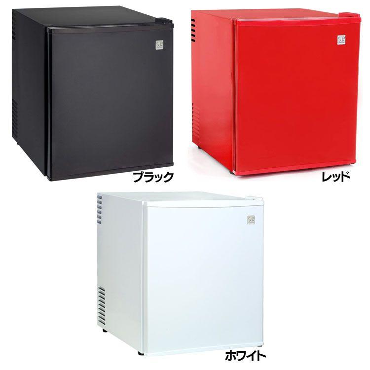 SunRuck 1ドア電子冷蔵庫 48L 「冷庫さん」 SR-R4802-K送料無料 冷蔵庫 小型冷蔵庫 48L カラー ペルチェ方式 コンパクトサイズ 静か 棚取り外し 3色 2Lペットボトル ブラック レッド ホワイト【D】